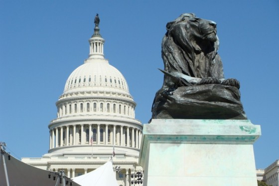 Capitol and Lion